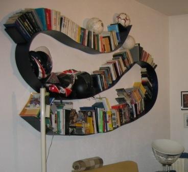 KARTELL BOOKWORM 520 cm libreria flessibile Design Ron Arad TUTTI ...